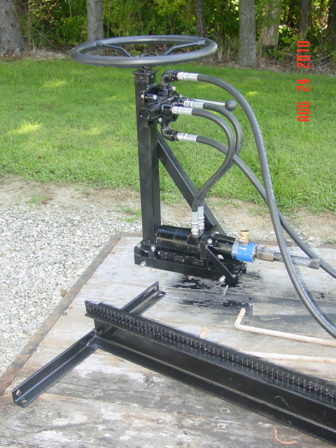 Boring Tool Trolley Assembly Unmounted